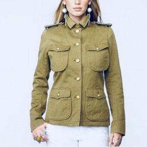 Ralph Lauren Denim & Suppy Military Jacket Sz M